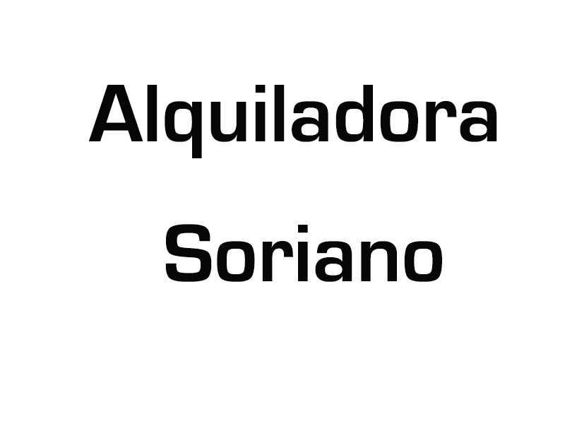 Alquiladora Soriano