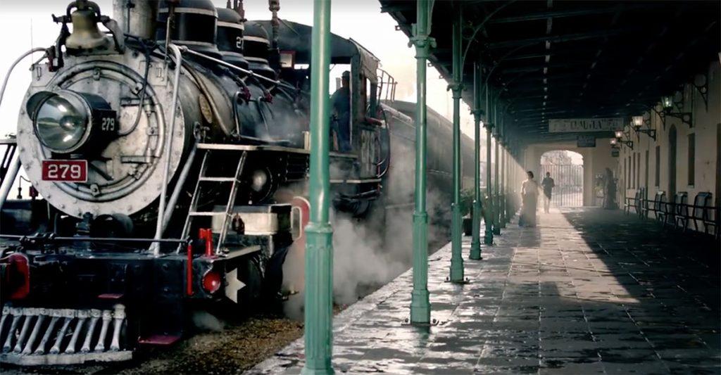 tren escenico