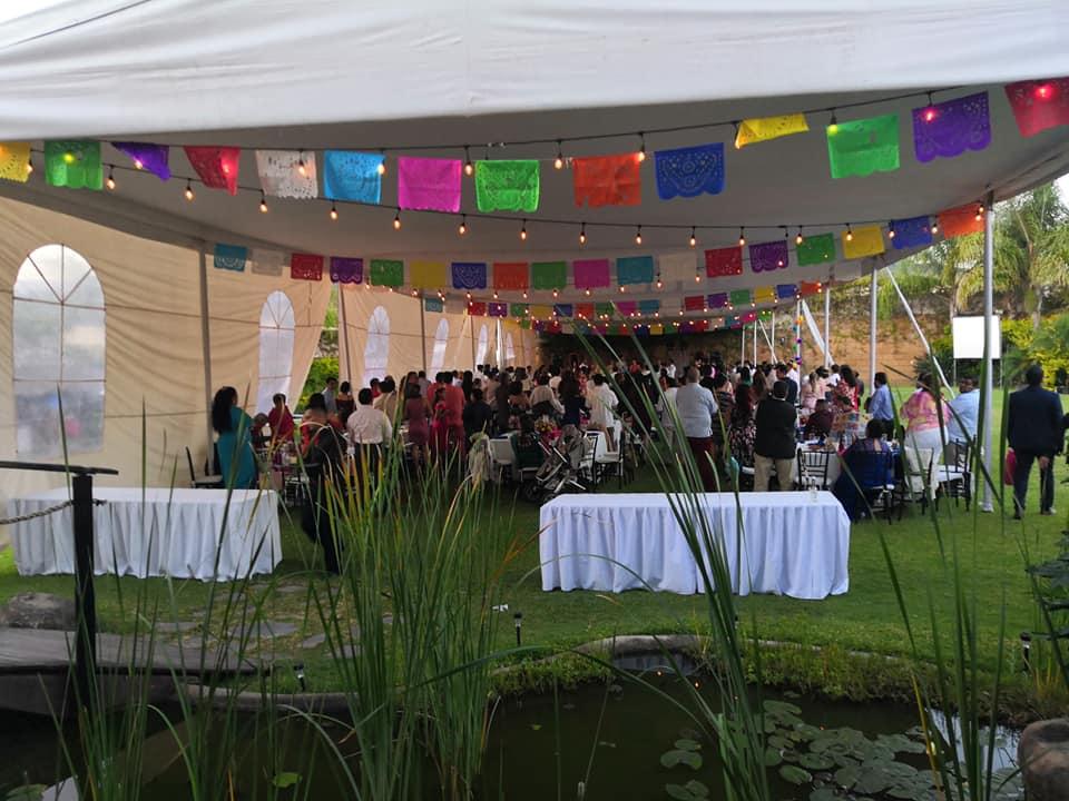 Jakú jardín de Eventos