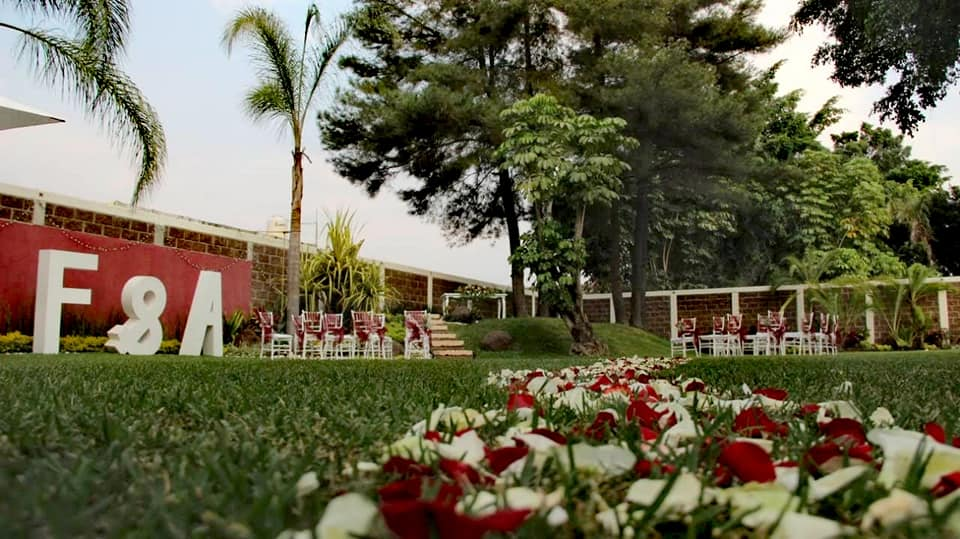 Jardín Heliconias en Oaxtepec