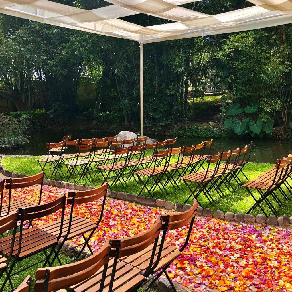 Jardín de lujo en Cuautla