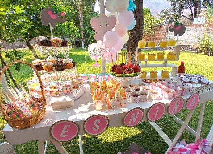 Mesas de dulces en Cuautla